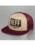 NEFF trucker cap Corpo rood