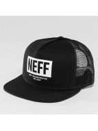 NEFF Trucker Caps Corpo czarny