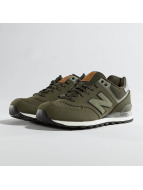 New Balance Baskets 574 olive