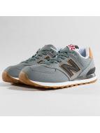 New Balance Sneaker ML574 D YLD blau