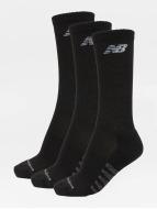 New Balance Sokken 6-Pack Core Unisex Low Cut zwart