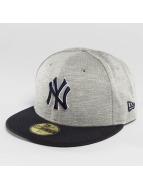 New Era Бейсболка Team Jersey Crown NY Yankes 59Fifty серый
