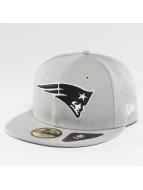 New Era Бейсболка New England Patriots серый