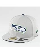 New Era Бейсболка Seattle Seahawks серый