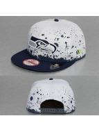 New Era Кепка с застёжкой Splatter Seattle Seahawks 9Fifty белый
