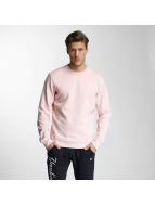 New Era Пуловер Sandwash розовый