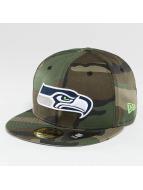 New Era Baseballkepsar Seattle Seahawks kamouflage