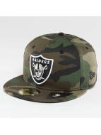 New Era Baseballkepsar Oakland Raiders kamouflage