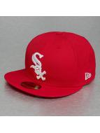New Era Baseballkepsar JD League Basic Chicago White Sox 59Fifty röd
