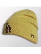 New Era Beanie Seasonal Cuff LA Dodgers gelb