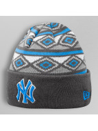 New Era Beanie Jacqued Up NY Yankees grau
