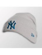 New Era Beanie Seasonal Cuff NY Yankees grau