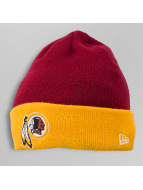 New Era Beanie Contrast Cuff Washington Redskins rot