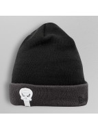 New Era Beanie Character Contrast Cuff Punisher schwarz