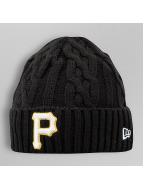 New Era Beanie Team Cable Pittsburgh Pirates schwarz