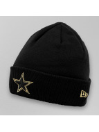New Era Beanie Metallic Cuff Dallas Cowboys schwarz