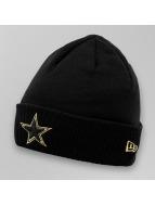 New Era Beanie Metallic Cuff Dallas Cowboys zwart