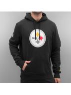 New Era Bluzy z kapturem Logo Pittsburgh Steelers czarny