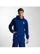 New Era Bluzy z kapturem West Coast LA Dodgers niebieski