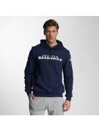 New Era Bluzy z kapturem Team App Seattle Seahawks niebieski