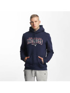 New Era Bluzy z kapturem NFL Ultra Fan New England Patriots niebieski
