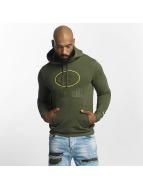 New Era Bluzy z kapturem NFL Camo Green Bay Packers oliwkowy