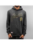 New Era Bluzy z kapturem MLB PO San Francisco Giants szary