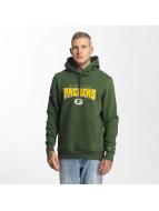 New Era Bluzy z kapturem NFL Ultra Fan Green Bay Packers zielony