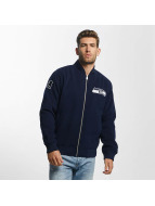 New Era Bomberjacke Melton Seattle Seahawks blau