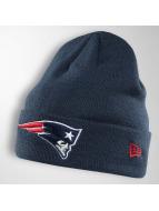 New Era Bonnet Team Essential Cuff New England Patriots bleu
