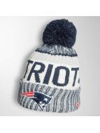 New Era Bonnet hiver On Fiel NFL Sport New England Patriots bleu