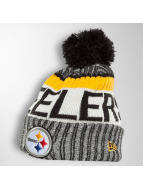 New Era Bonnet hiver ONF NFL Sport Pittsburgh Steelers gris