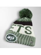 New Era Bonnet hiver On Fiel NFL Sport NY Jets vert