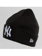 New Era Bonnet New Era Essential Cuff NY Yankees Beanie noir