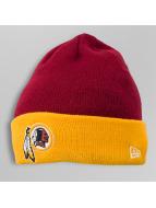 New Era Bonnet Contrast Cuff Washington Redskins rouge