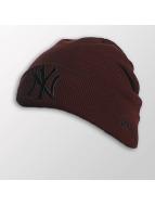 New Era Bonnet Seasonal Cuff NY Yankees rouge