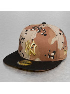 New Era Casquette Fitted NY Yankees beige