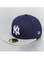 New Era Casquette Fitted Quilt Team NY Yankees bleu