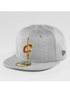 New Era Casquette Fitted NBA Cleveland Cavaliers Heather Fitted gris