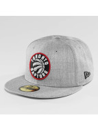 New Era Casquette Fitted NBA Toronto Raptors Heather Fitted gris