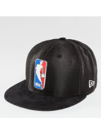 New Era Casquette Fitted NBA 17 On Court Logo noir