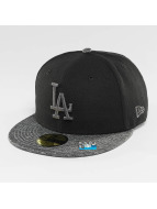 New Era Casquette Fitted Grey Collection LA Dodgers 59Fifty noir
