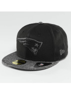 New Era Casquette Fitted Grey Collection New England Patriots 59Fifty noir