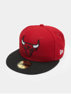 New Era Casquette Fitted NBA Basic Chicago Bulls 59Fifty rouge
