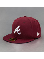 New Era Casquette Fitted League Basic Atlanta Braves rouge