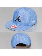 New Era Casquette Snapback & Strapback Miami Vibe Atlanta Braves bleu