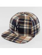 New Era Casquette Snapback & Strapback Spring Plaid NY Yankees 9Fifty brun