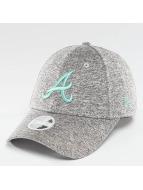 New Era Casquette Snapback & Strapback Tech Jersey Atlanta Braves 9Forty gris