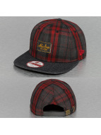 New Era Casquette Snapback & Strapback Denplaid 9Fifty rouge