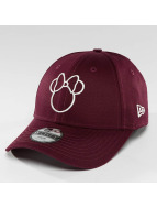New Era Disney Silhoutte Minnie Maus JR 9Forty Cap Frosted Burgundy/Off White